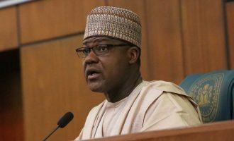 Sources: Dogara pleaded with reps not to embarrass Buhari