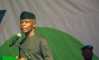 Osinbajo: Nigeria needs $1trn investment to modernise energy infrastructure