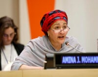 Amina Mohammed: Educating boys about menstruation is critical to achieving SDGs
