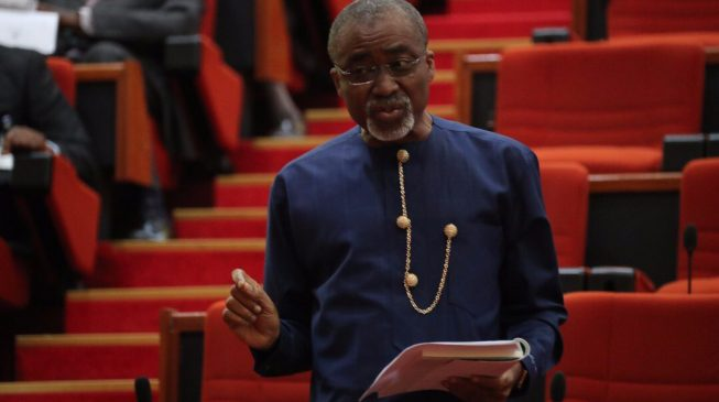 Insecurity: Abaribe asks Buhari to resign