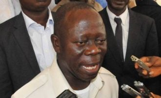 Oshiomhole: It will be strange for us to have graveyard peace in APC