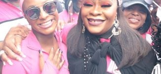 PHOTOS: DJ Cuppy, Chigul, Amokachi… celebrities turn up for Arise Walk for Life