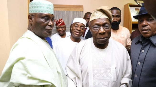 Oyedepo: Why I accompanied Atiku to Obasanjo's residence