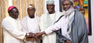 Kukah's effort to reconcile Atiku, Obasanjo was politicised, says Catholic secretariat