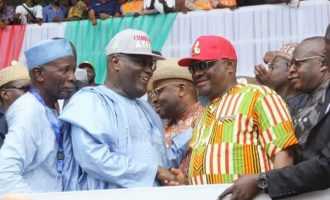Wike: Vote for Atiku… he'll develop Nigeria rapidly