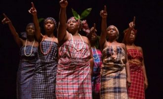 Aba Women's Riot re-enacted in stage play, 'August Meeting'