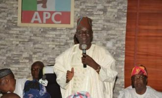 Lagos APC chairman: I've been trying to get Ambode's membership card to him without success