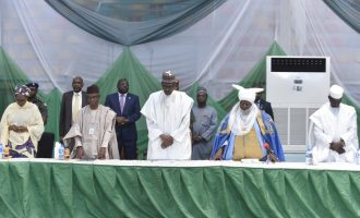 Buhari visits Kaduna, meets with traditional, religious leaders over violence
