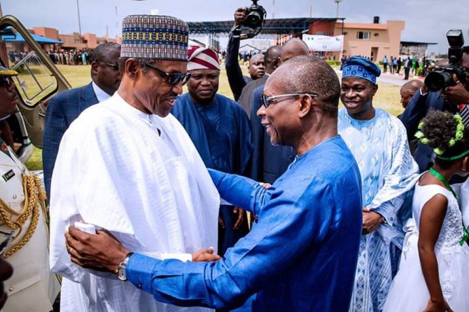 Buhari inaugurates ECOWAS border post in Seme