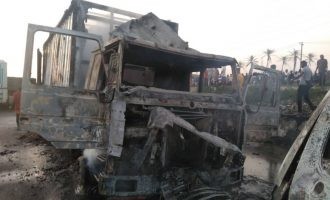Witnesses speak on tanker explosion in Lagos