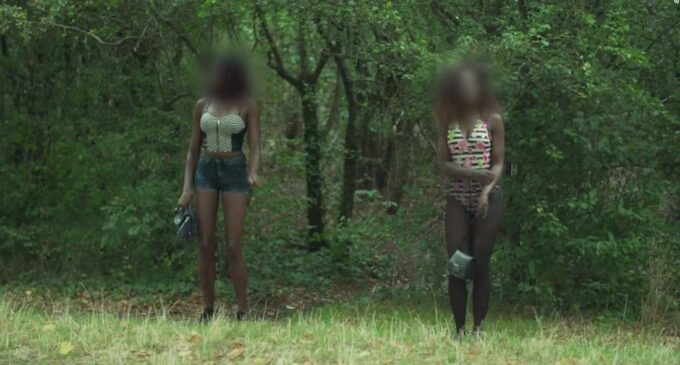 CNN exposes Paris park where Nigerian women are forced into prostitution