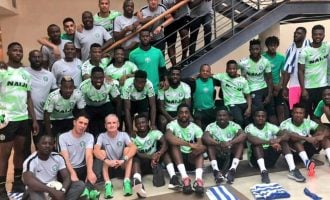 Nigeria vs Uganda: Rohr names starting XI for friendly