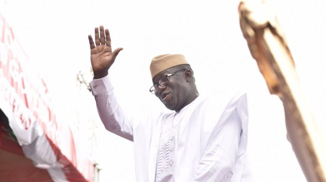Today marks the end of an error, Fayemi tells Ekiti people
