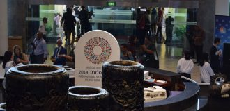 Earthquake vibrations hit Bali, venue of IMF/WBG meetings