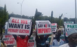 Protesters storm PDP campaign office over 'imposition' of candidate in Kogi