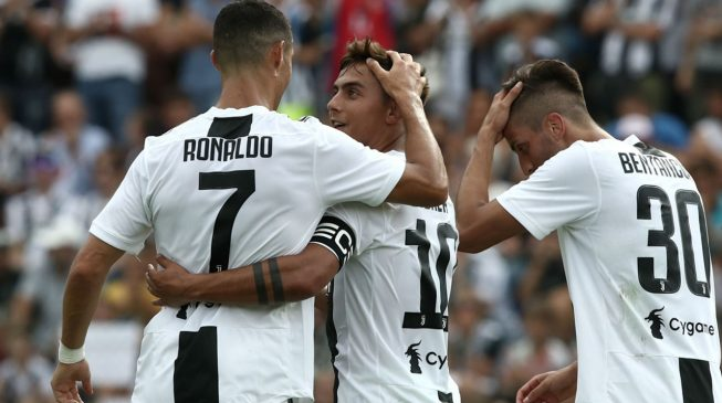 UCL: Juventus pip United on Ronaldo's return, City dominant in Ukraine