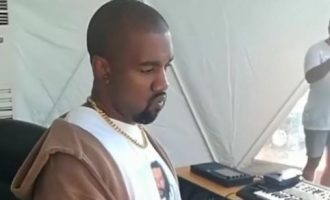 WATCH: Kanye West dances to Nigerian songs while in Uganda to record