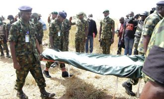 Corpse of missing general found in a well
