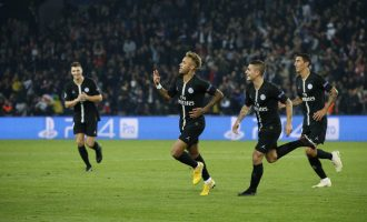 Neymar hits treble for PSG as Barcelona humble Spurs