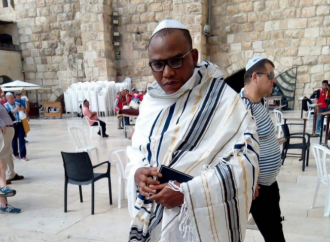 VIDEO: Nnamdi Kanu resurfaces in Jerusalem — after over one year in hiding