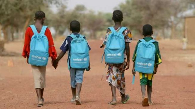 UNICEF promises to assist over 500,000 out-of-school children in Nigeria