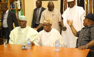 'More sleepless nights for APC' — Twitter reactions to Obasanjo's endorsement of Atiku