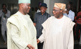 Atiku visits Obasanjo for the 'first time' since losing elections