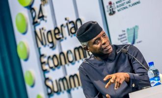 Osinbajo: We are working to reduce population growth by 50% through educating women