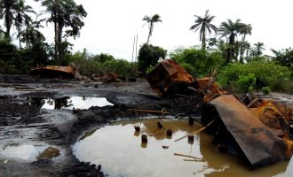 Navy destroys illegal Niger Delta refineries — after undercover report on oil theft