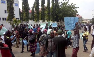 Pro-Abe protesters ask APC to recognise him as Rivers guber candidate