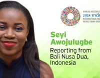 Follow TheCable as Zainab Ahmed replaces Adeosun at 2018 IMF/WBG meetings