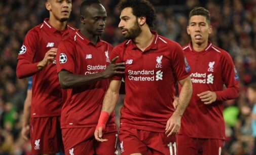 UCL: Salah hits brace in dominant Liverpool win as Barca soar without Messi