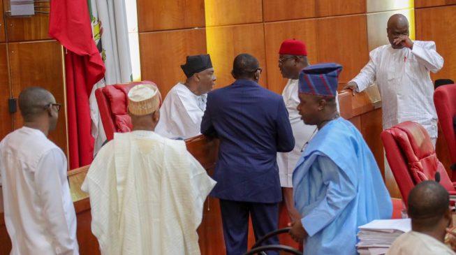 APC senators ignore party's directives, seek reconciliation with Saraki