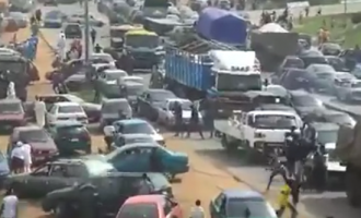 TRENDING VIDEO: How soldiers clashed with Shi'ites in Abuja