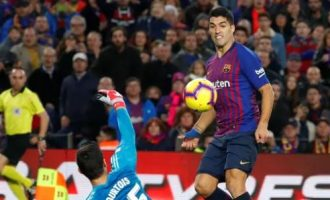 No Messi but Barca annihilate Real Madrid through Suarez hat-trick