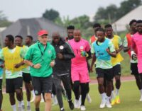 Onazi out of Libya game after suffering achilles injury