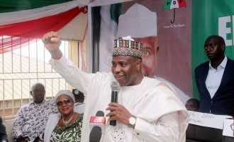 INEC confirms Tambuwal as PDP governorship candidate in Sokoto