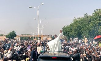 One killed as 'thugs' attack Tambuwal's convoy in Sokoto