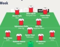 Ighalo, Onazi, Ogu… TheCable's team of the week