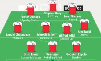 Mikel, Success, Odey… TheCable's team of the week