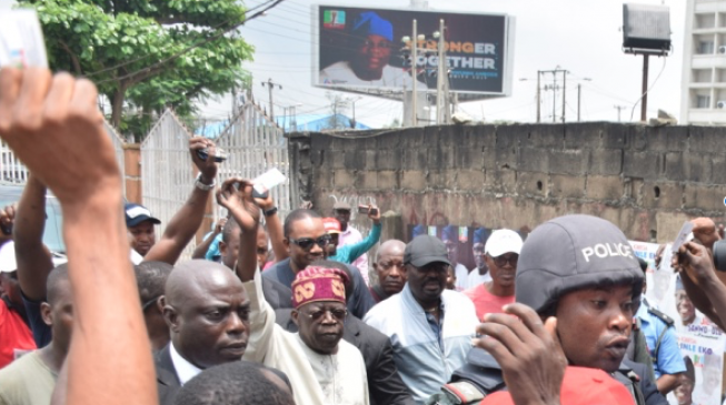 Tinubu: Rancour between Ambode and I? That's an insult