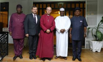 Archbishop of Canterbury meets with Atiku, Buhari in Abuja