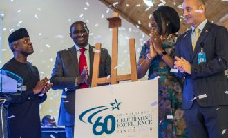 Osinbajo speaks on education as Grange School turns 60