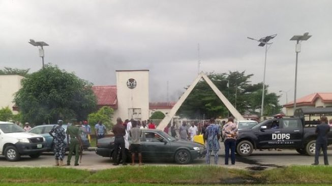 Tension in Akwa Ibom as 'thugs' invade state assembly