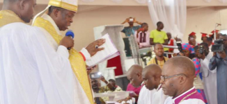 Ekpenisi, first-class graduate, ordained Anglican bishop