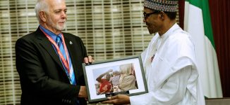 After Canada's Justin Trudeau, Buhari wins global polio award