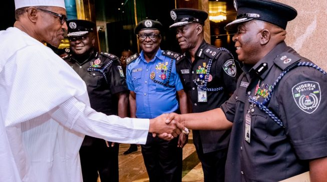 Buhari increases salaries of police officers