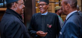 'Ganduje is very responsible' — Buhari passes vote of confidence on governor
