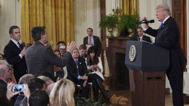 CNN sues White House for barring reporter