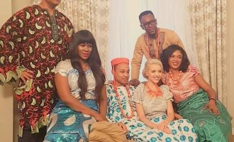 TCL behind-the-scenes: Stephanie Linus, Omoni Oboli on 'Clash' set